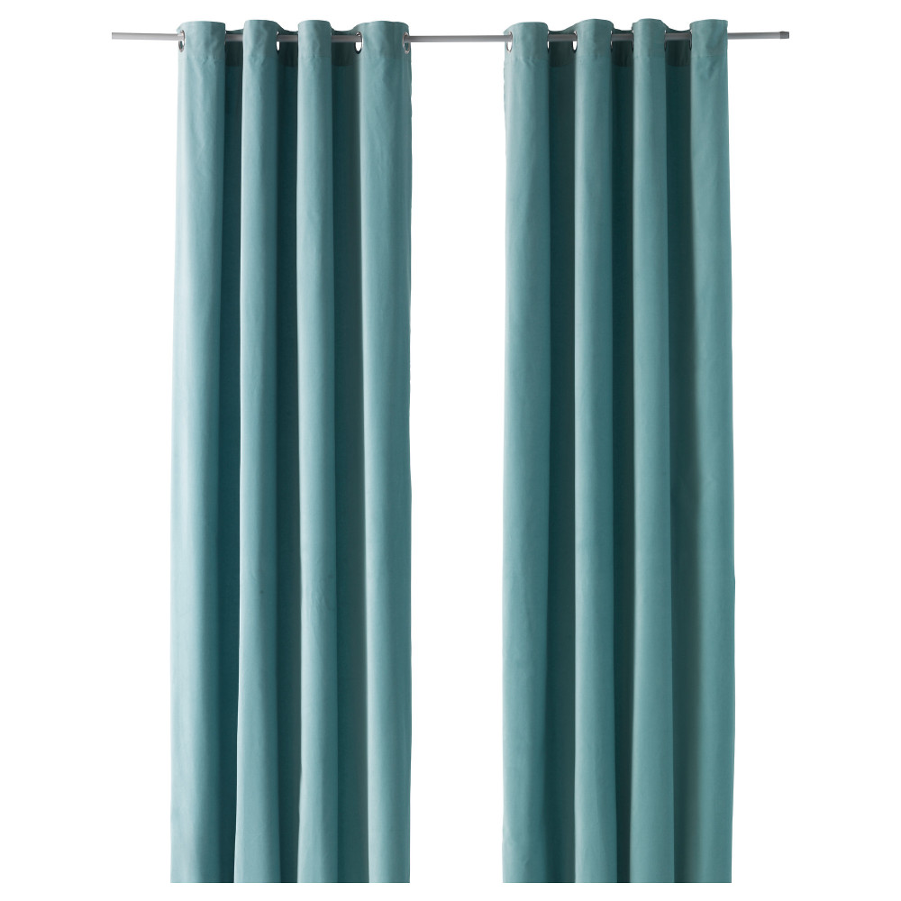 Amazoncom turquoise curtains 95 inches Home amp Kitchen